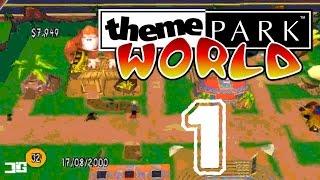 ¡VUELVE THEME PARK! - Theme Park World (PSX) - Ep.1 - Retro Games - Gameplay Español