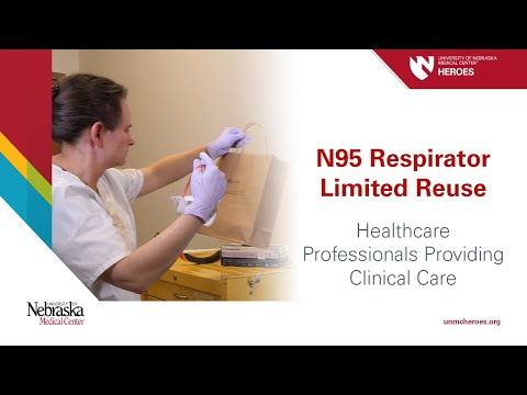N95 Respirator Limited Reuse - Healthcare Professionals Providing Clinical Care