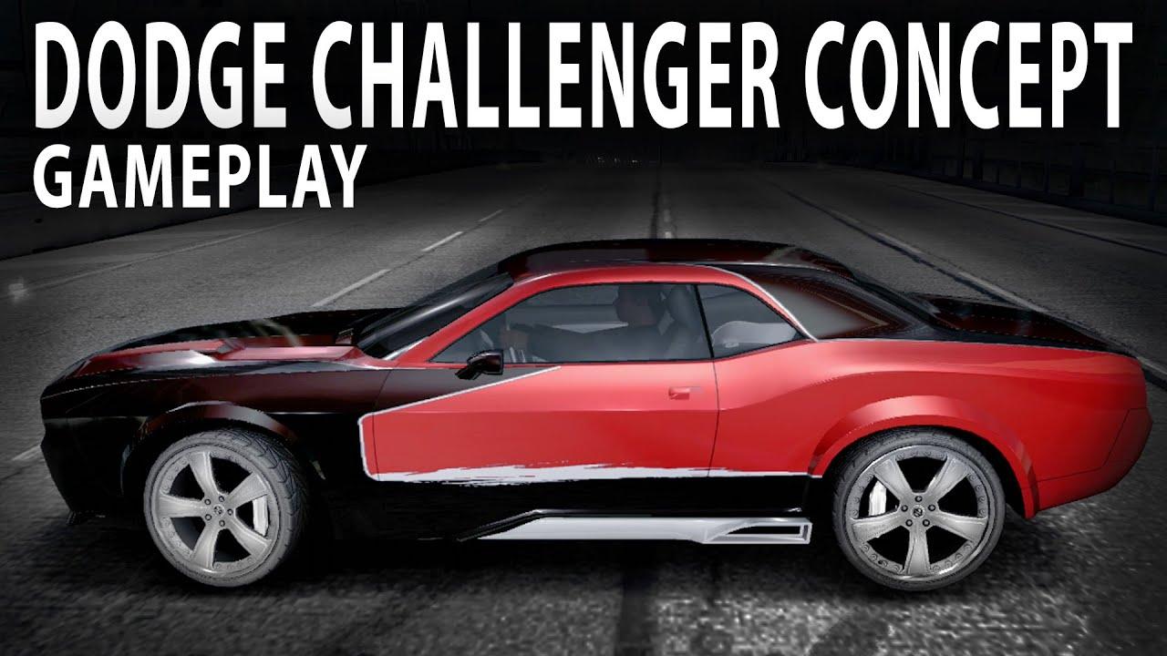 NFS CARBON Colectors Edition : Dodge Challenger Concept, Challenge series BRONZE - YouTube