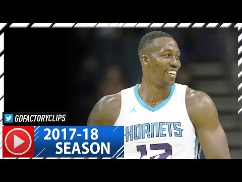 Dwight Howard Full Highlights vs Nuggets (2017.10.25) - 15 Pts, 19 Reb