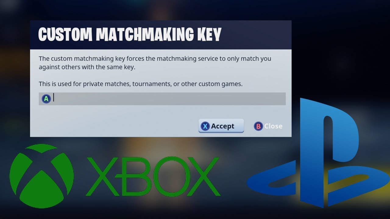 what does custom matchmaking key mean in fortnite christian dating after 30