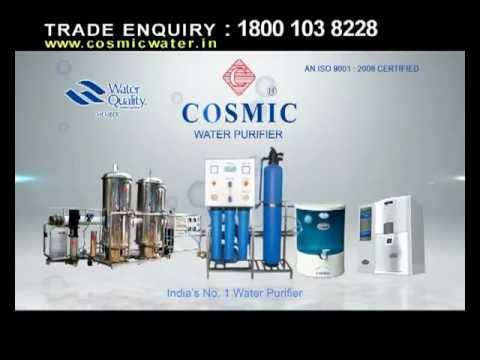 Cosmic Water purifer pure water 05sec.mp4