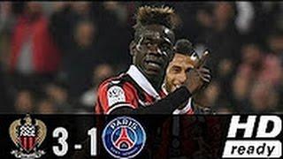 OGC Nice vs PSG 3-1 All Goals & Highlights 30.4.2017