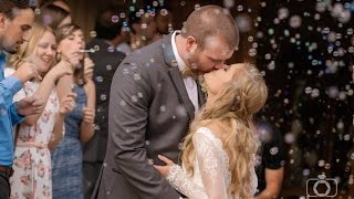Such a sweet wedding! Chris + Lindsey's Wedding Film at Thunderbird Chapel in Norman, OK
