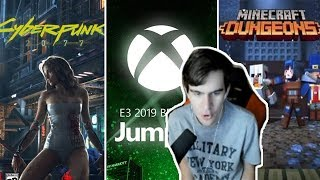 БРАТИШКИН СМОТРИТ E3 - MICROSOFT: Cyberpunk 2077, Minecraft Dungeons, Halo Infinite