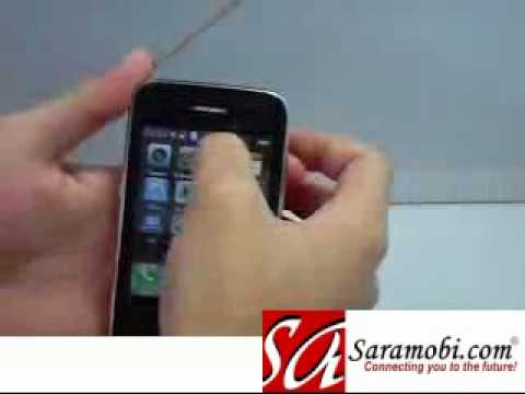 Ciphone A900 Unlocked Dual sim standby TV phone with Invisible Keyboard_1 - SaraMobi.com