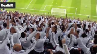 شاهد روعة و حماس جماهير ريال مدريد عن قرب , من يريد ان يكون معهم HD