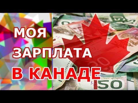 МОЯ ЗАРПЛАТА В КАНАДЕ. Кем работают иммигранты? Работа в Канаде, средняя и минимальная оплата труда.