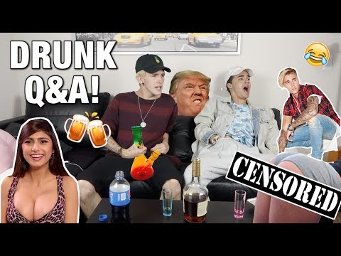 DRUNK Q&A! *Gone Wrong*