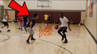 TRASH TALKERS GET EXPOSED IN PICK UP BASKETBALL FT RCKICKS