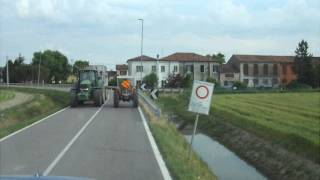 Sorpasso.. New Holland T6040 vs Fiat 750
