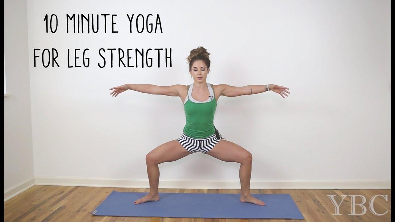 3 Minute Yoga For Leg Strength