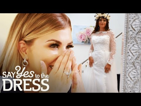 Bride Falls in Love With a Dress That's Out of Her Budget | Second Chance Dresses