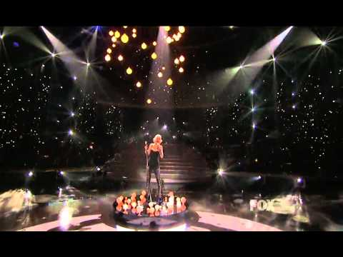 Christina Aguilera Live You Lost Me American Idol 2010