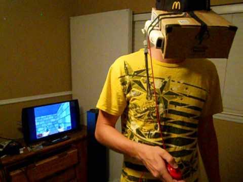 Home made vr helmet youtube for Vr for home