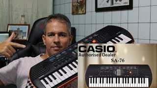 CASIO SA-76 (REVIEW) Test Sounds by TIAGO MALLEN #casio #tecladismo #keyboard