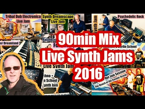 Synth Live Jam Mix 2016 | Electronica, Ambient, Chill-out, Downtempo, New Age Music