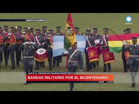 TV Pública Noticias - Bandas militares en el Campo Argentino de Polo