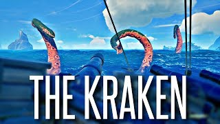 THE KRAKEN AWAKENS - Sea of Thieves ( Stronghold PVP, Stealing Loot )