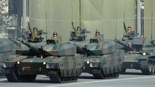 陸上自衛隊東部方面隊が創立56周年観閲式
