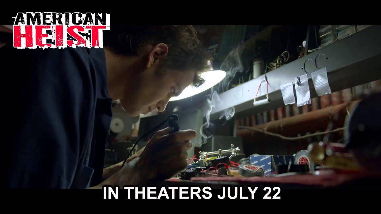 movie american heist trailer