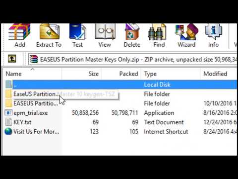How To Activate Epm (easeus Partition Master )