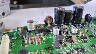 не работает радио lr l405. 2014. лопнул ионистор..