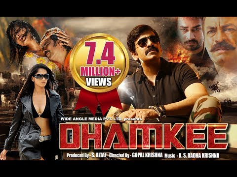 Dhamkee - Hindi Action Movie 2014 | Ravi...