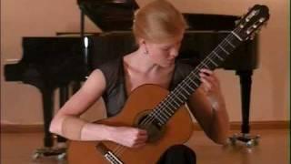 J S Bach Sonata no I Adagio & Fuge BWV 1001 played by Eva Beneke