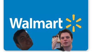 Two Dumbasses go to Walmart at night