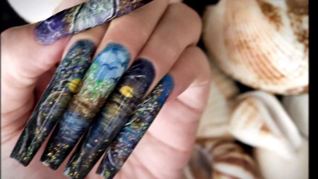 The First Nail Art Magazine From Joey Chen (Malaysia) - YouTube