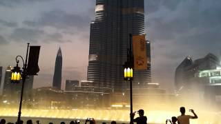 I'll Always Love You - The Dubai Mall Water Fountain Show