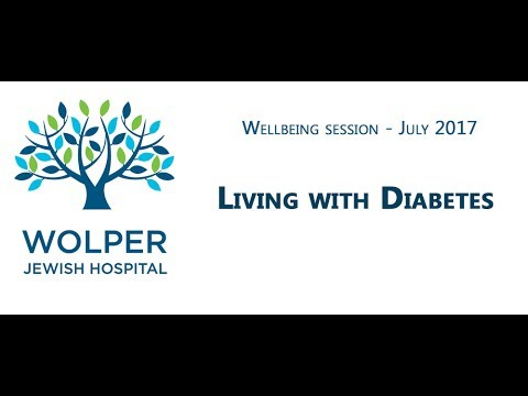 Wolper Wellbeing: Living with Diabetes – July 2017
