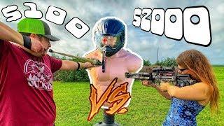 $100 Sling Bow vs $2000 Crossbow