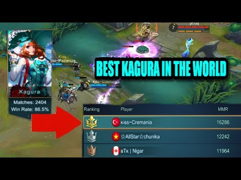 Mobile Legends: BEST KAGURA PLAYER IN THE WORLD GAMEPLAY!! (Cremania/850Stars)