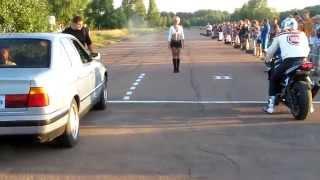 le plus imporatnt c'est le départ : moto vs BMW
