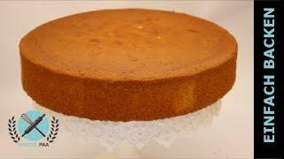 Wunderkuchen Rezept I Torten Boden Grundrezept