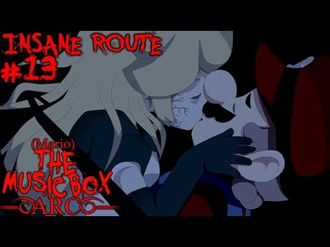 MARIO THE MUSIC BOX ARC - AURORA/MISERY BOSS FIGHT Part 13 [Insane Route]