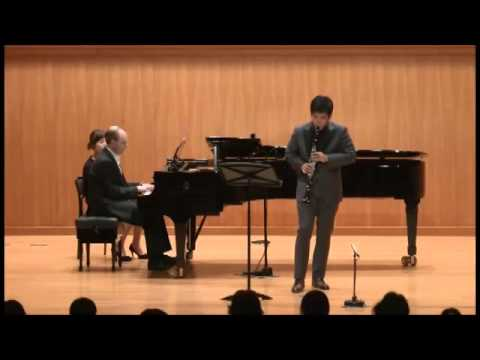 Muczynski Time pieces for Clarinet and Piano, Op.43