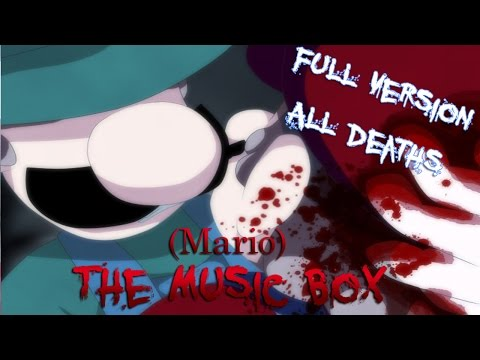 (Mario) The Music Box | RPG Maker Horror [ All Death Scenes ]