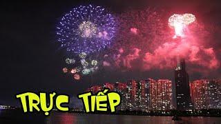 Trực tiếp bắn pháo hoa 2020 Hầm Thủ Thiêm Hồ Chí Minh FIREWORKS 2020 and happy new year