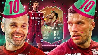 FUT BIRTHDAY IS HERE! 92 FLASHBACK DAVID VILLA PLAYER REVIEW! FIFA 19 Ultimate Team