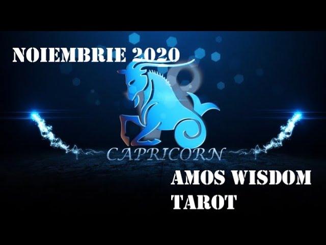 Tarot Horoscop - Capricorn - Noiembrie 2020
