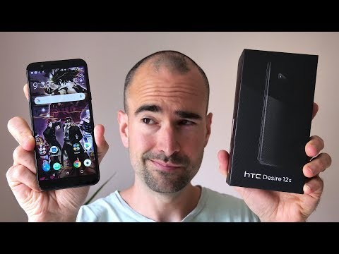 HTC Desire 12s | Unboxing & Tour