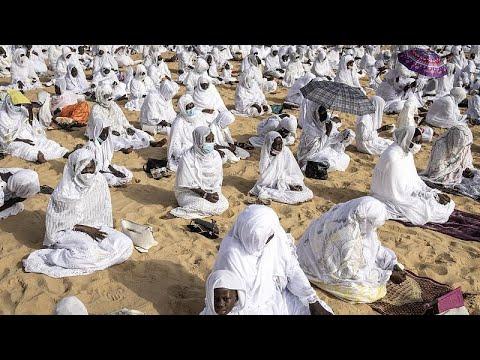 Senegal Muslims celebrate Eid al-Adha amid virus worries