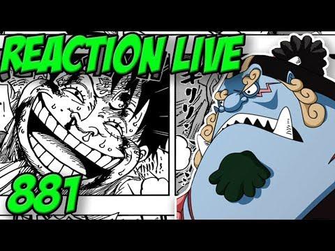 LE VERITABLE SAUVEUR DES MUGIWARA - Reaction live chapitre one piece 881