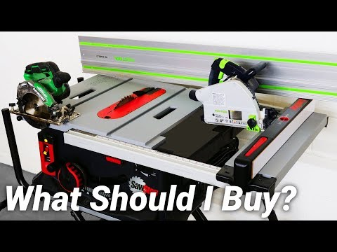 Table Saw vs Track Saw vs Circular Saw! Which Should You Buy?