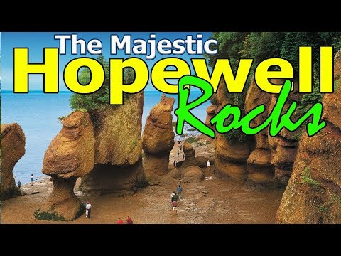 Our First Visit In Hopewell Rocks - New Brunswick, Canada