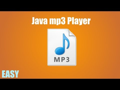 Java how to make an mp3 player!