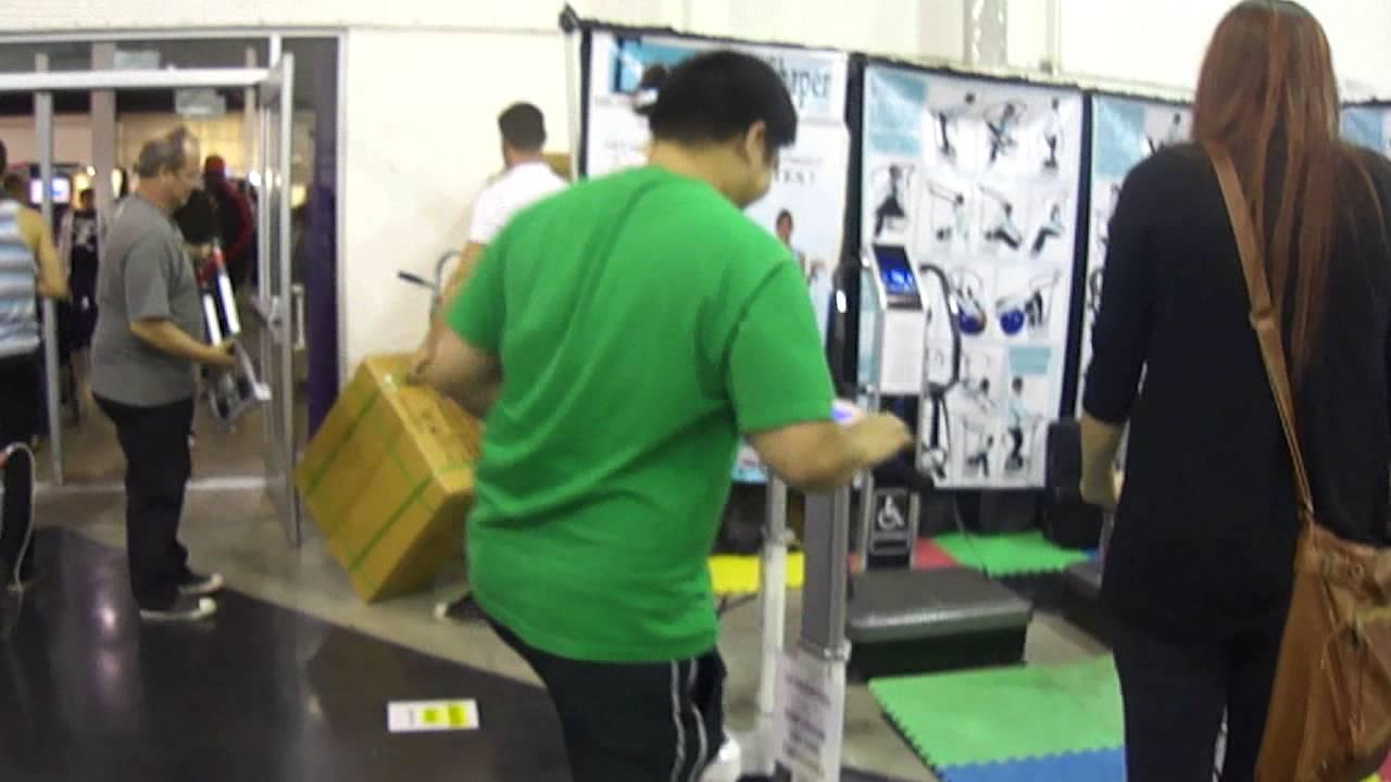 4342fbc766 Euro Body Shaper at OC Fair 2013... I gave it a try. - YouTube